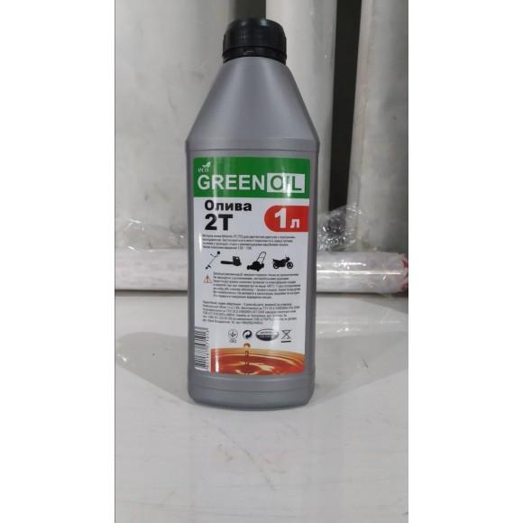 Масло для двухтактных двигателей GREENOIL ECO -2T 1L